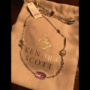 Kendra Scott Maddie necklace - Dichroic Glass